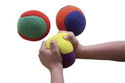 "Sportime 033073 FleeceLight Activity Balls, 3-3/4"", Multiple"