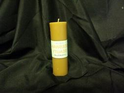 "100% Beeswax pillar candle. 1.75""  x 6 inch Pure Natural 100"