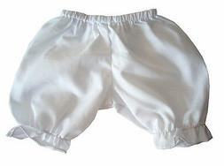 14-16 Inch Baby Doll Clothes Bargain! White Bloomers