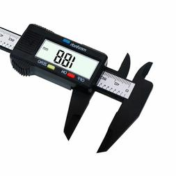 150mm/6inch LCD Digital Electronic Carbon Fiber Vernier Cali