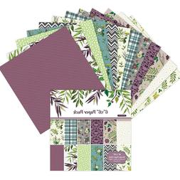 24PCS/Set <font><b>Paper</b></font> Craft DIY Photo Album Sc