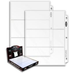 3 Boxes  - Pro 3-Pocket Coupon Storage Pages