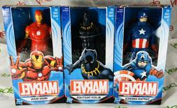 3 super hero 6 inch action figures