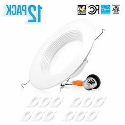 "4-12 x PARMIDA 5/6"" 15W LED Retrofit Downlight Baffle Recess"