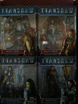 4 Warcraft Movie 6 inch Collectible Action Figures with Acce