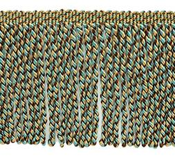 DecoPro 5 Yard Value Pack - 6 Inch Long|Light Peacock, Camel