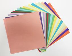 500 Sheets Craft Paper in 20 Colors Double Sided Arts Crafts