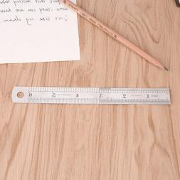 6 inch / 15 cm Stainless Steel Metal Straight Ruler Precisio