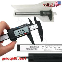 6 inch / 150mm Digital Electronic LCD Steel Stainless Ruler
