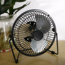 6 inch Portable with Clip USB Desktop Fan for Home Office Ba