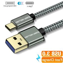 6inch~3ft Type C Cable USB-C to USB-A 2.0 Cord for iPad Pro