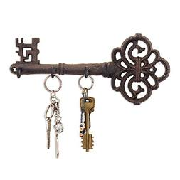 Decorative Wall Mounted Key Holder | Vintage Key With 3 Hook