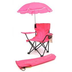 Redmon Beach Baby Kids Camp Chair with Carry Umbrella & Matc