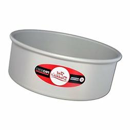 Fat Daddio's Anodized Aluminum Round Cake Pan, 6 Inches by 3