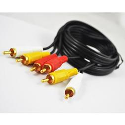 TOOGOO Audio Video RCA Cable 6ft