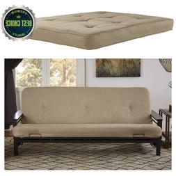 Bed Mattress Coil Futon Couch 6-Inch Foam Polyester Layering