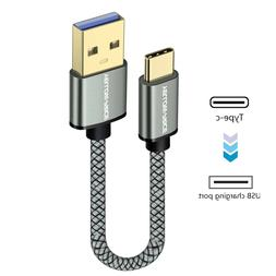 6inch Type C USB C 3.1 Sync Charging Cable For Samsung Galax