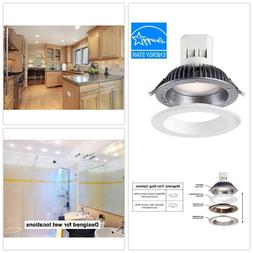 EnviroLite 6 in. Bright White LED Easy Up Recessed Ceiling L