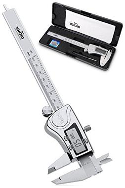 Aickar Digital Caliper, Stainless Steel Electronic Digital C