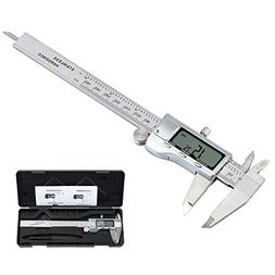 Proster 150mm/6inch Digital Caliper Vernier with 32 Feeler G