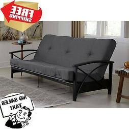 "6"" Full Double Sleeper Futon Mattress Thermo-bonded Eco-frie"