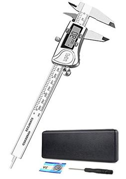 Electronic Digital Caliper 6 inch - Full Stainless Steel Met