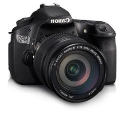 Canon EOS 60D 18 MP CMOS Digital SLR Camera with EF-S 18-55m