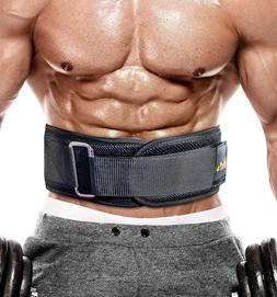 PeoBeo Fitness Weight Lifting Belt for Heavy Lifting Workout