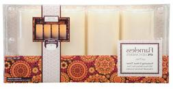 Flameless LED Candles Wax Pillars Vanilla Scent 5 Hour Timer