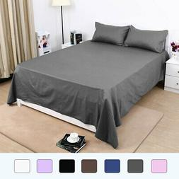 Flat / Top Bed Sheets Only 300 Thread Count Egyptian Cotton