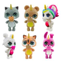 Lanyitoys <font><b>6</b></font> Cute styles soft lol Poopsie