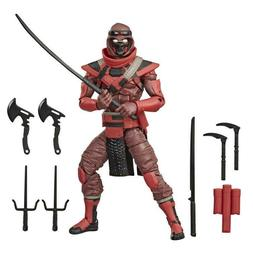 G.I. Joe Classified Series 6-Inch Red Ninja Action Figure PR