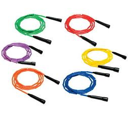 Sportime Gradestuff Link Jump Ropes, 7 Feet, Set of 6