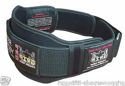 "Gym Weight Lifting 6"" Wide Neoprene Double Belt for Men Back"