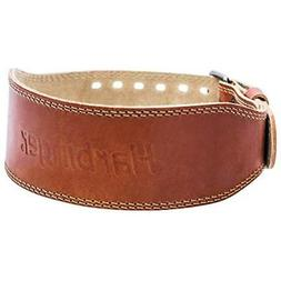 Harbinger Weight Belts Classic Oiled Leather Weightlifting B