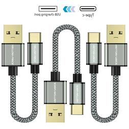 Heavy Duty Braided Fast USB C Type C 3.1 Data Phone Charger