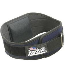 Schiek Industrial 6 Inch Nylon Support Belt Black - M