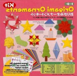 Japanese Origami Paper Kit - Holiday Christmas Ornament S-36