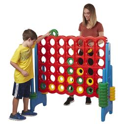 ECR4Kids 4-to-Score Oversized Game for Kids and Adults