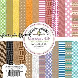 Kraft In Color Scrapbooking 6x6 inch Paper Pad Doodlebug 24