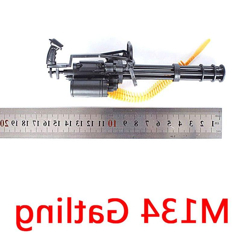 1/<font><b>6</b></font> Scale 12 Action M134 Gatling Minigun Terminator Machine Belt