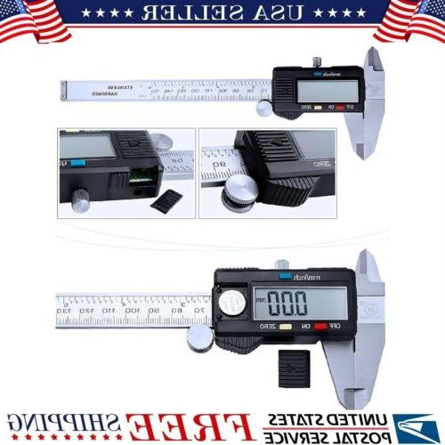 150mm 6inch lcd digital electronic gauge stainless