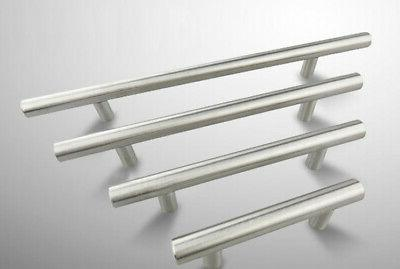 Stainless Knob T-Bar Furniture Handle Kitchen Cabinet Home 20''