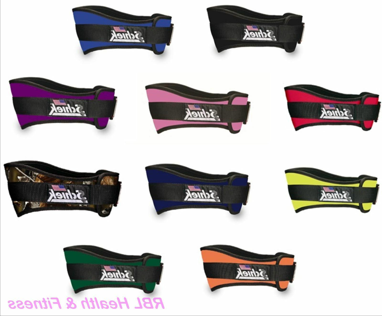 2006 6 original nylon weight lifting belt