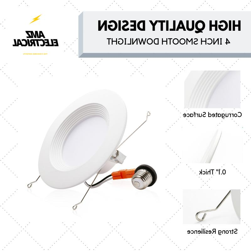 5/6 LED Downlight Baffle Trim, Recessed Can Light