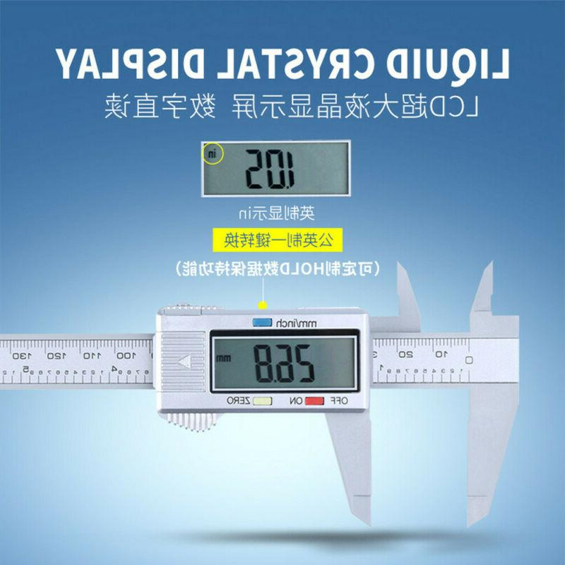 150mm 6 digital lcd stainless steel electronic