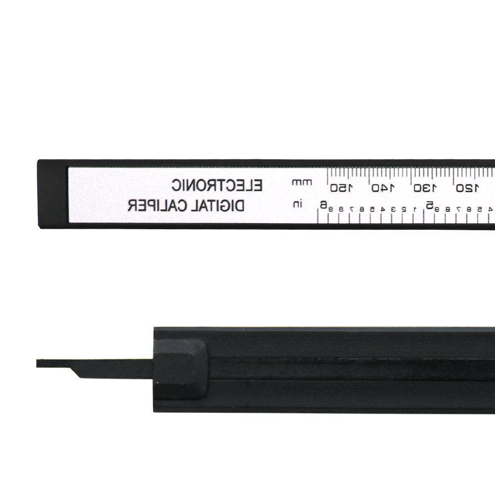 6 Digital Electronic LCD Stainless Ruler