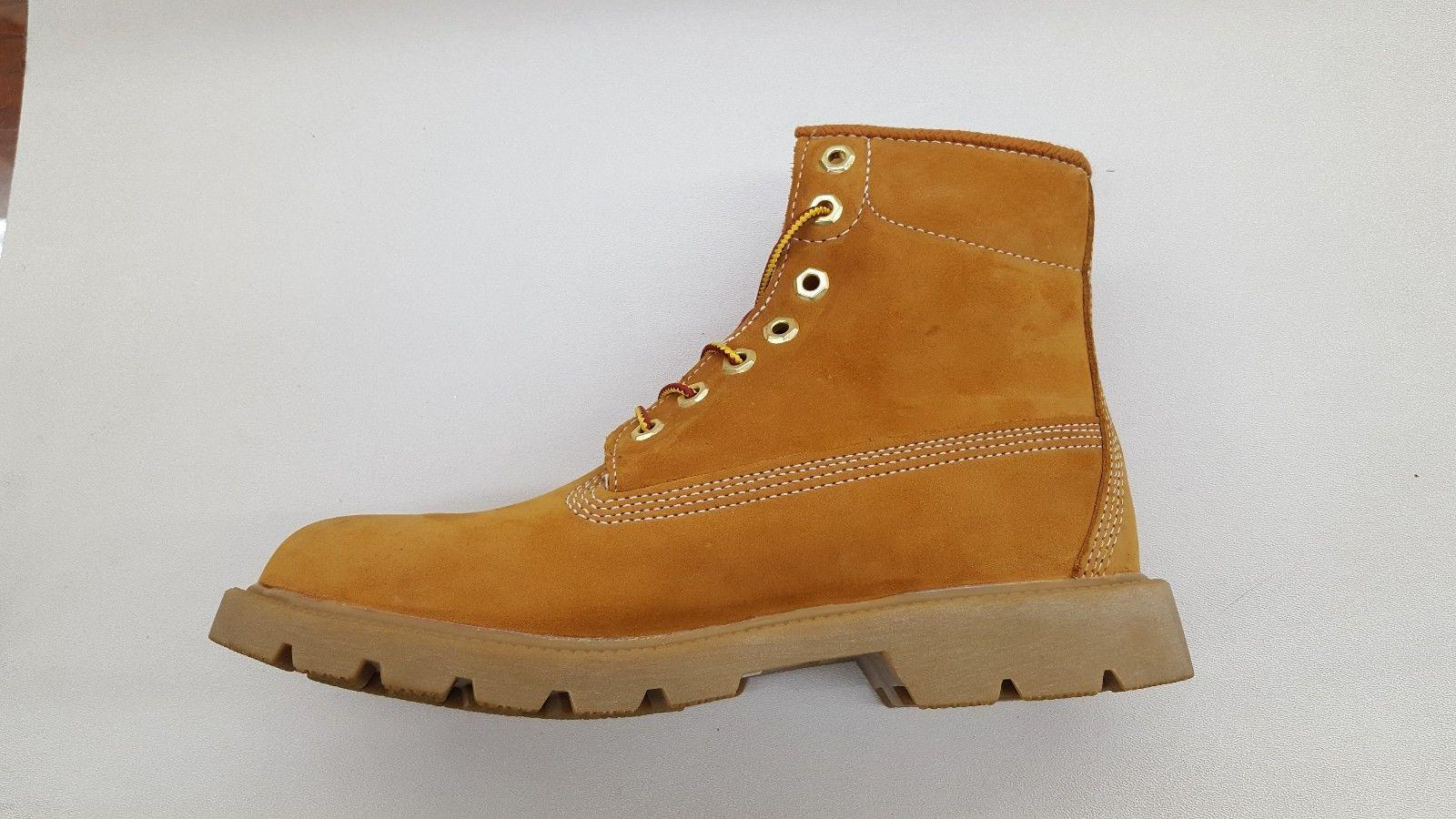 SINGLE WHEAT NUBUCK MENS SIZE
