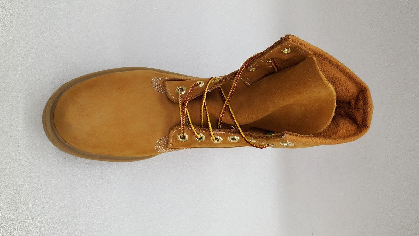 TIMBERLAND 6 SINGLE SOLE WHEAT MENS SIZE