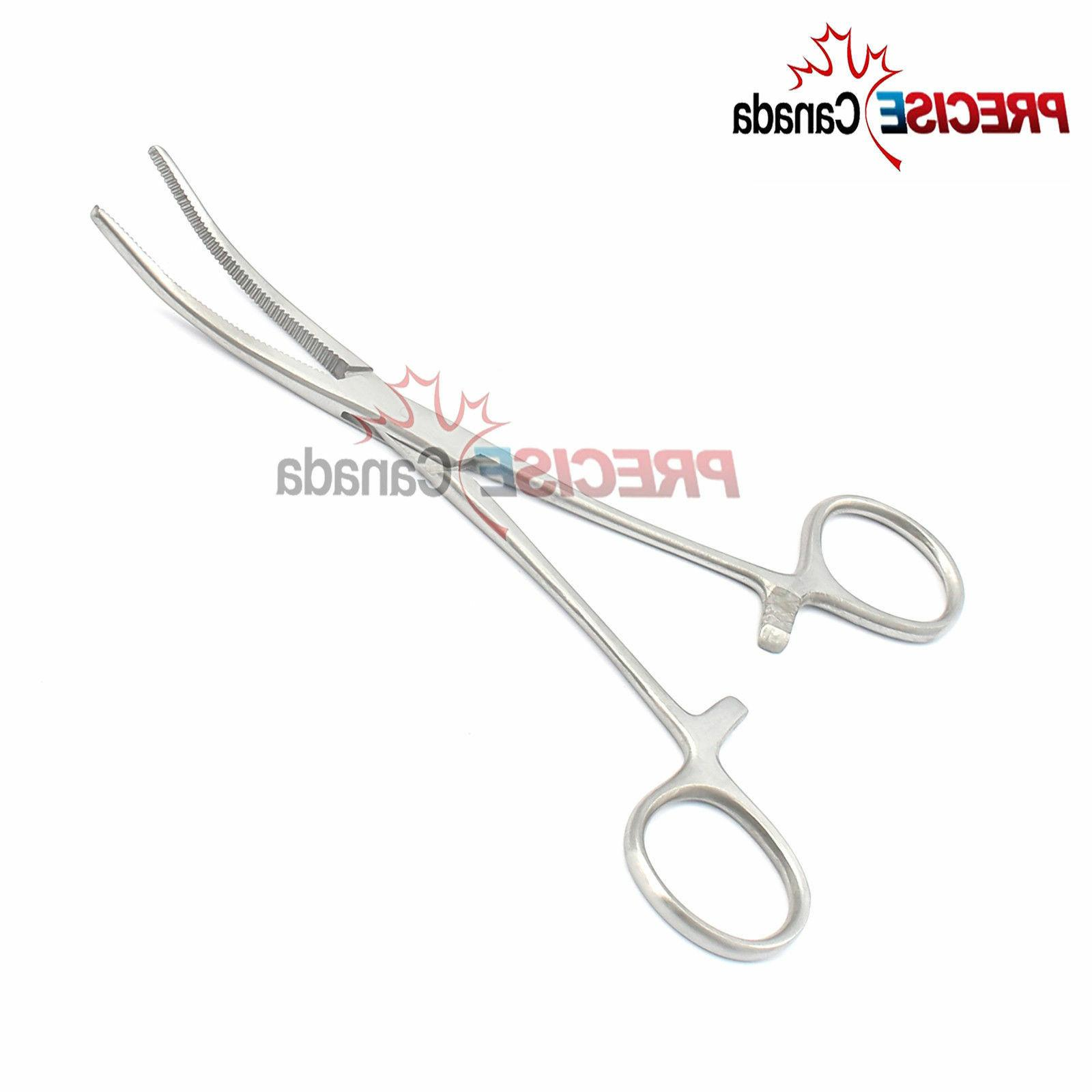6 inch curved fishing forceps stainless steel